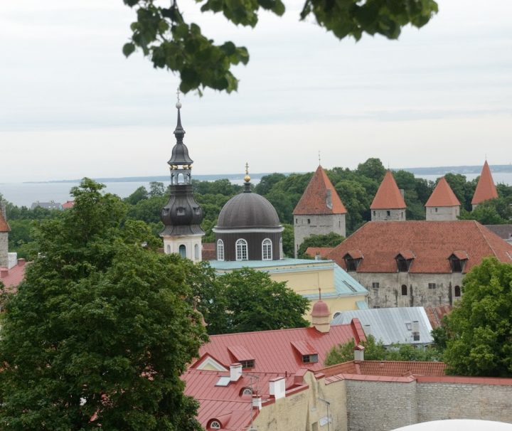 Baltic holidays Tallinn roofs