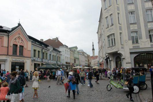 Helsinki Stockholm Baltic Countries - Viru Street Tallinn
