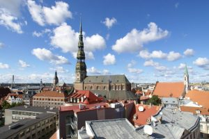 Riga observation decks - St Peter's Church Riga